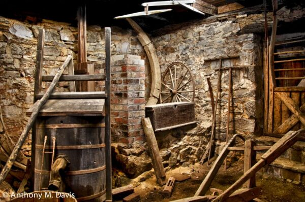 Basement and Tools at McCormick Mill