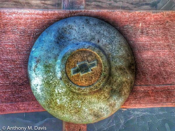 Old Chevy Hubcap