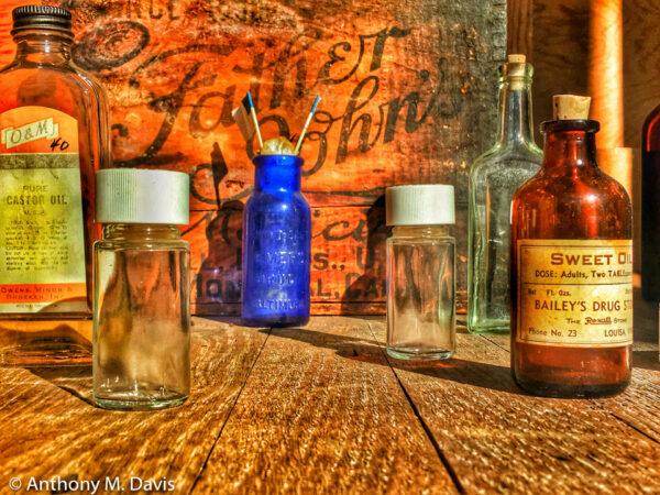 Drug Store Bottles