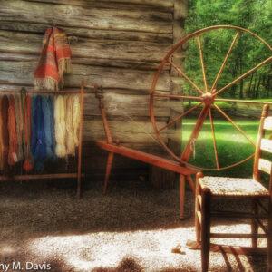 Yarn Work at Mabry Mill